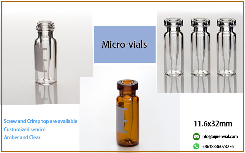 2ml autosampler vialMicro-vial for chromatography system