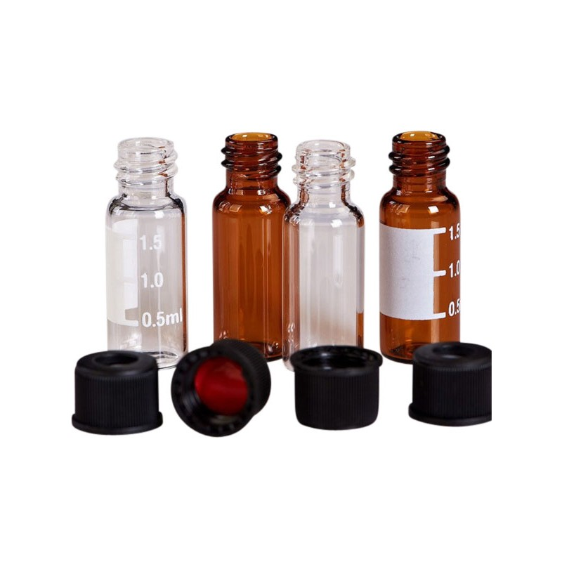 2ml autosampler vial2ml Screw HPLC Vials with Caps for Sale