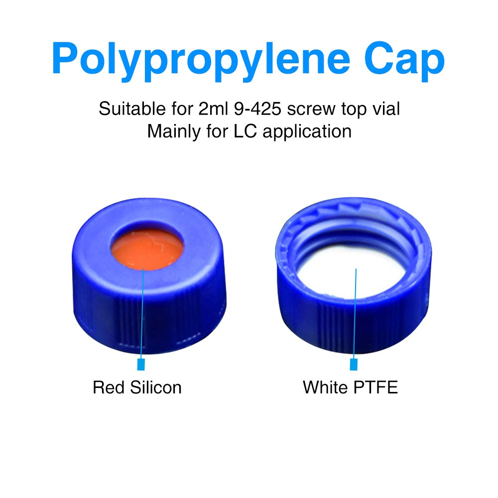2ml autosampler vialPolypropylene Hplc Cap for Sale