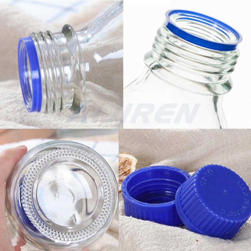 100ml glass reagent bottle with pp cap for sale