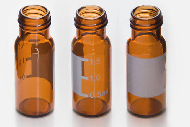 2ml amber chromatography  screw vials for sale