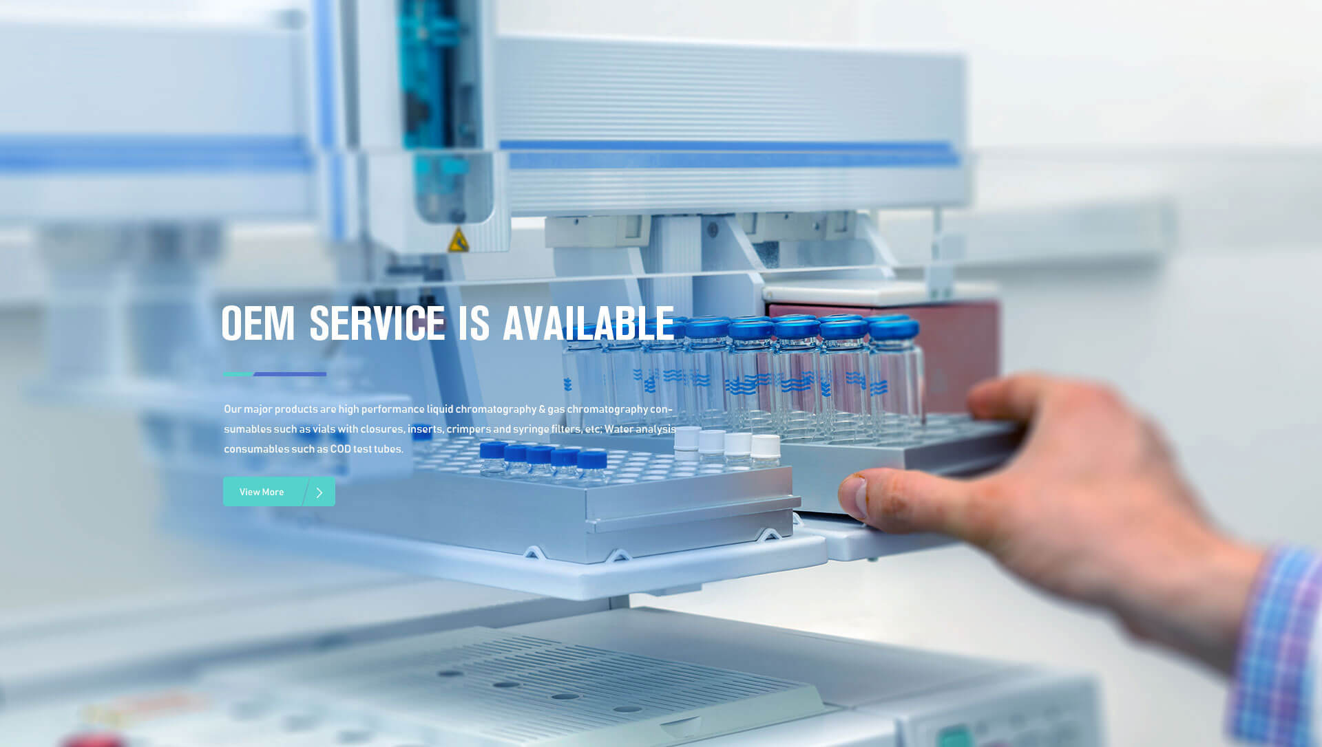 Chromatography Consumables OEM Service